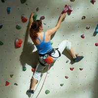 Climbing Vertical Gym